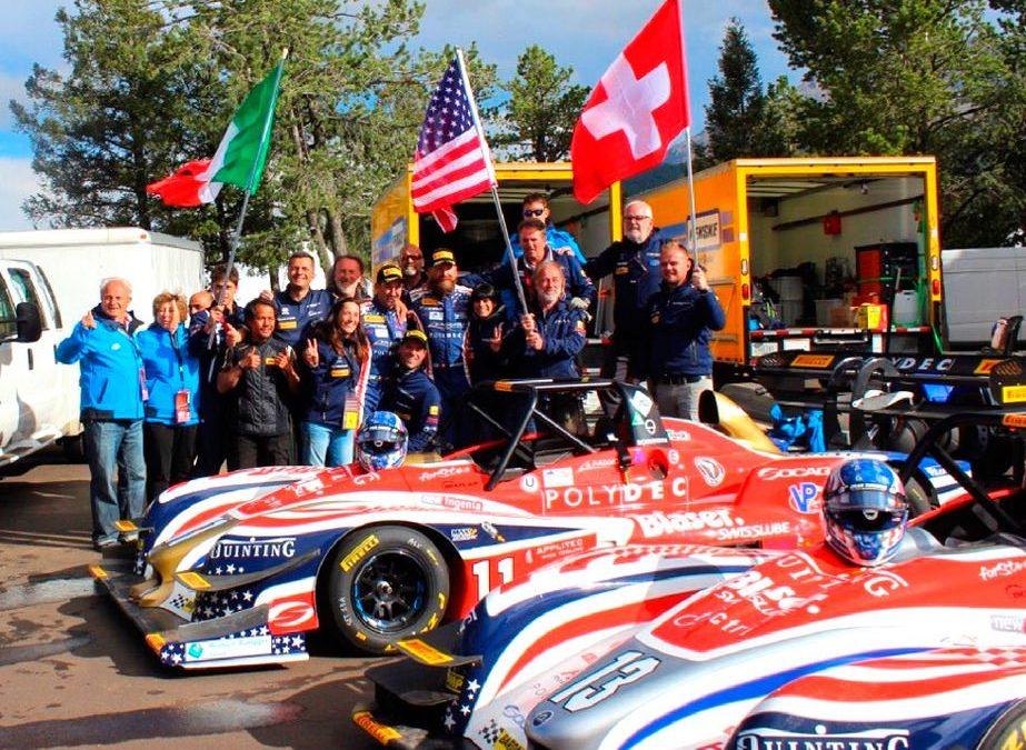 Faggioli at the Pikes Peak: Simone is in the american legend