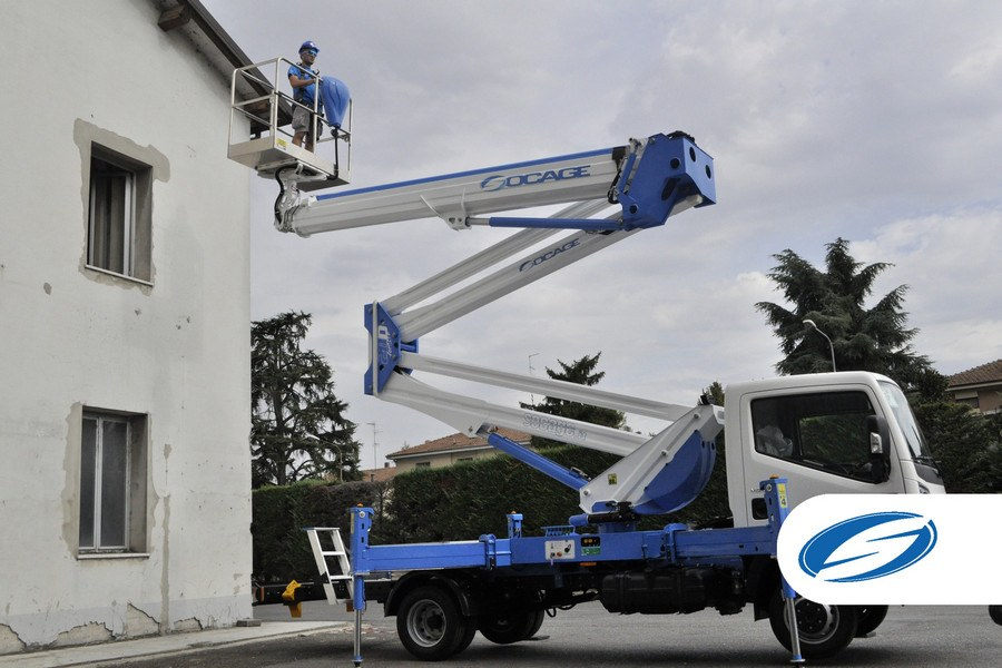 Trucks With Bucket Lift ForSte 28D Right Side Socage
