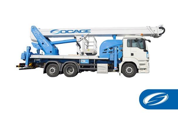 Truck mounted aerial platform 47TJJ