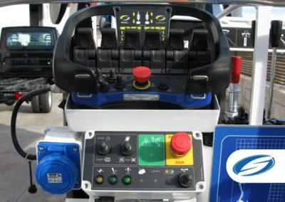 Spider boom lift ForSte spj315 controls