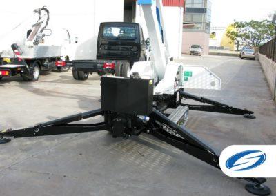 Spider boom lift ForSte spj315 stabilization