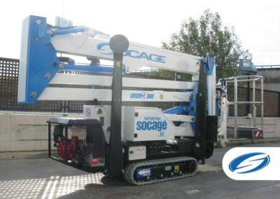 lifting platform ForSte spj315 latral Socage