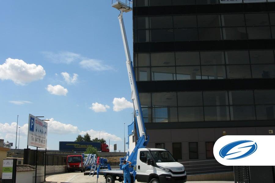 lifting platforms for trucks ForSte 16T arm Socage