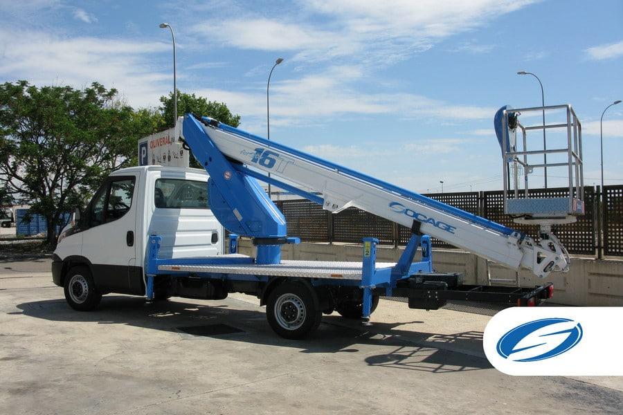 lifting platforms for trucks ForSte 16T left side Socage