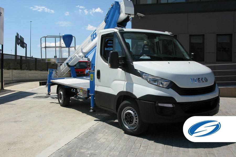 boom lift platforms for trucks ForSte 16T platform Socage