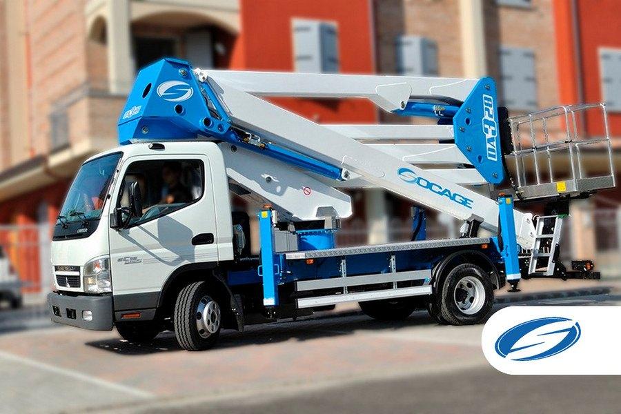 lifting platforms for trucks ForSte DA328 2 lateral Socage