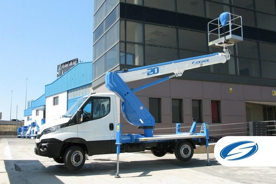 platform on truck Socage 20T