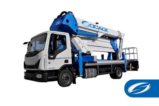 Truck mounted boom lift ForSte 37dj speed Socage