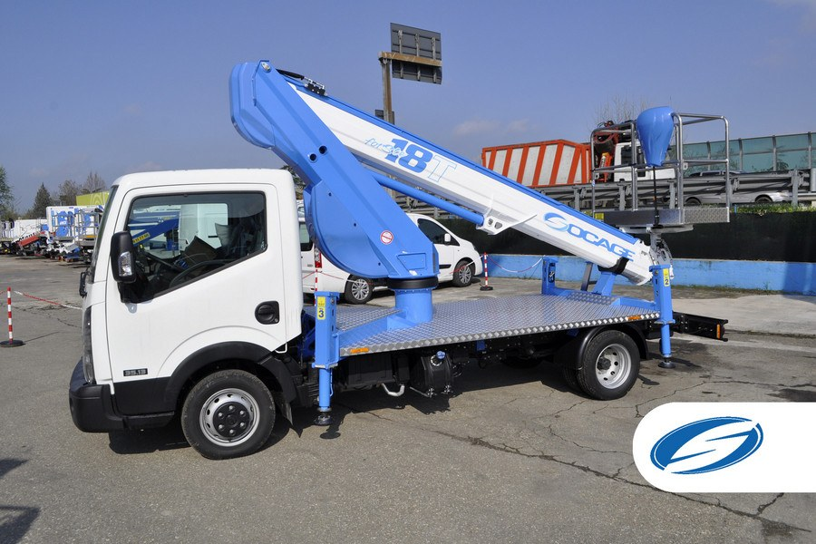trucks with lift basket ForSte 18T stabilizers Socage