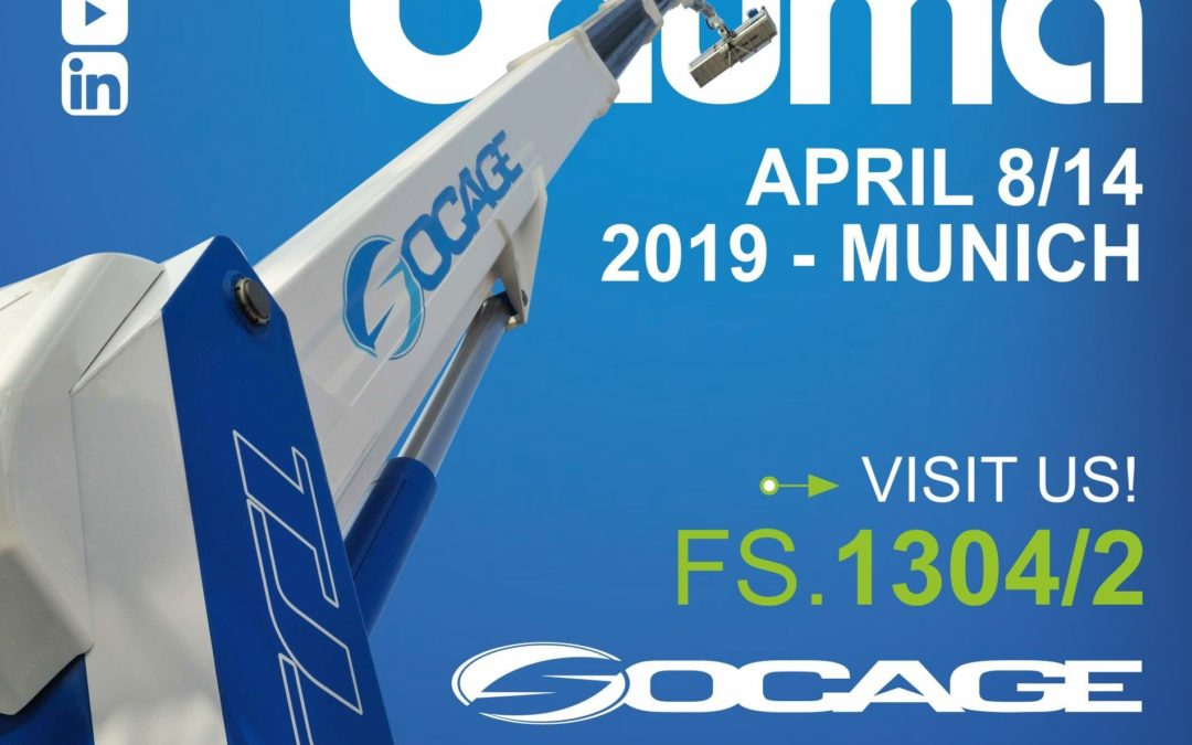 Socage at Bauma with the 37DJ Speed: velocity and simplicity to use