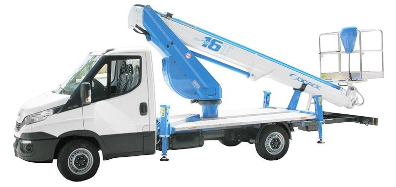 Bucket truck 16T
