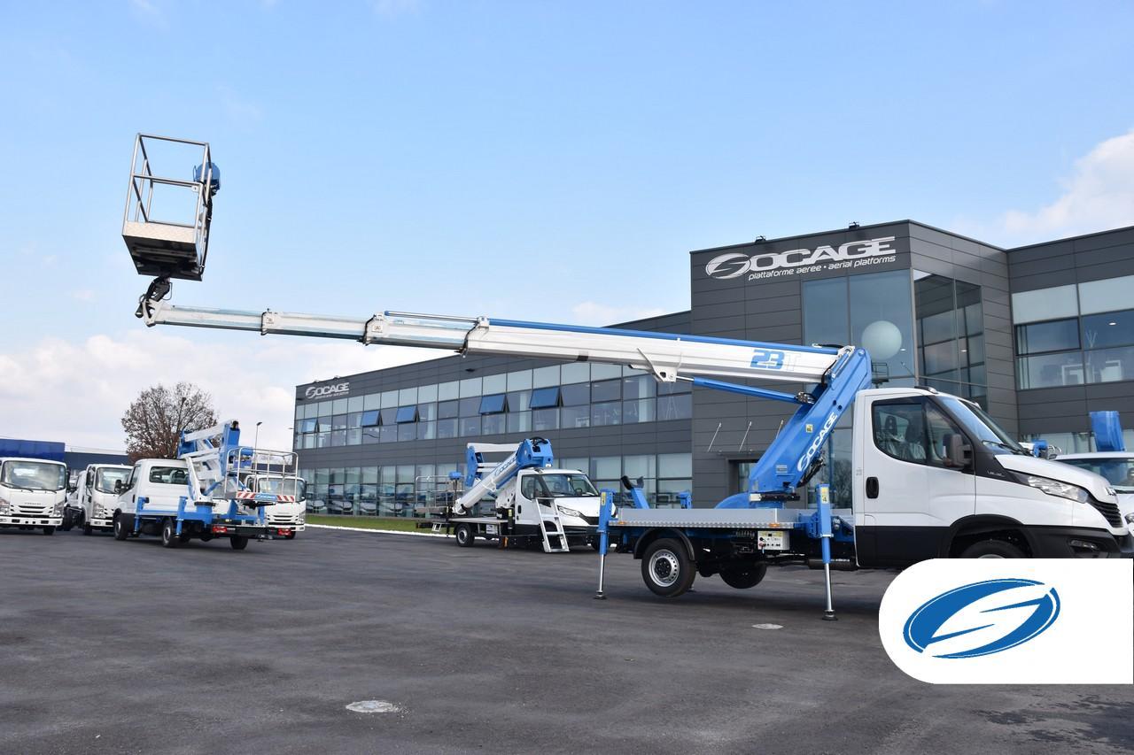 Boom lift truck ForSte 23T speed