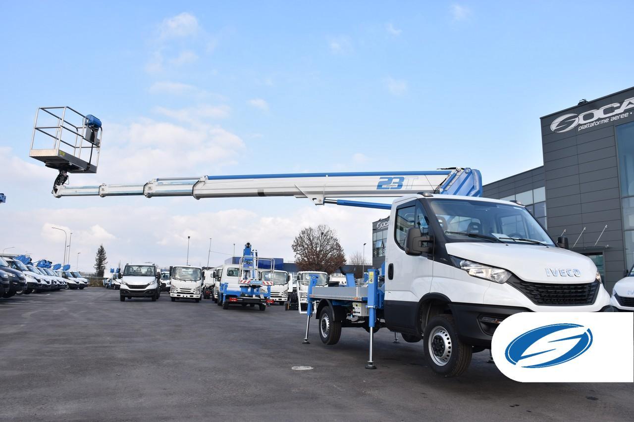 Boom lift truck Socage 23T high performance