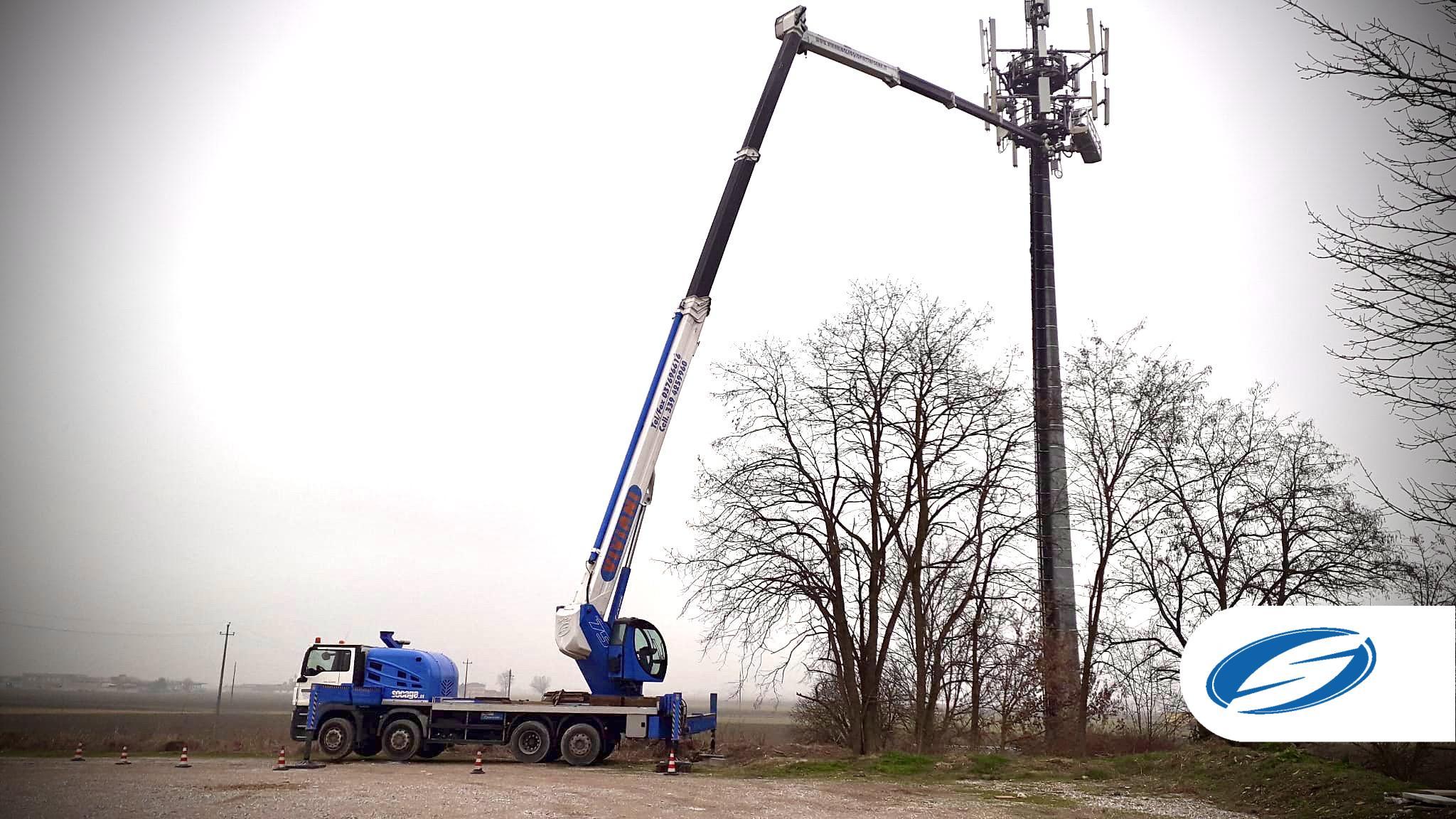Aerial work platform ForSte 75TJ work