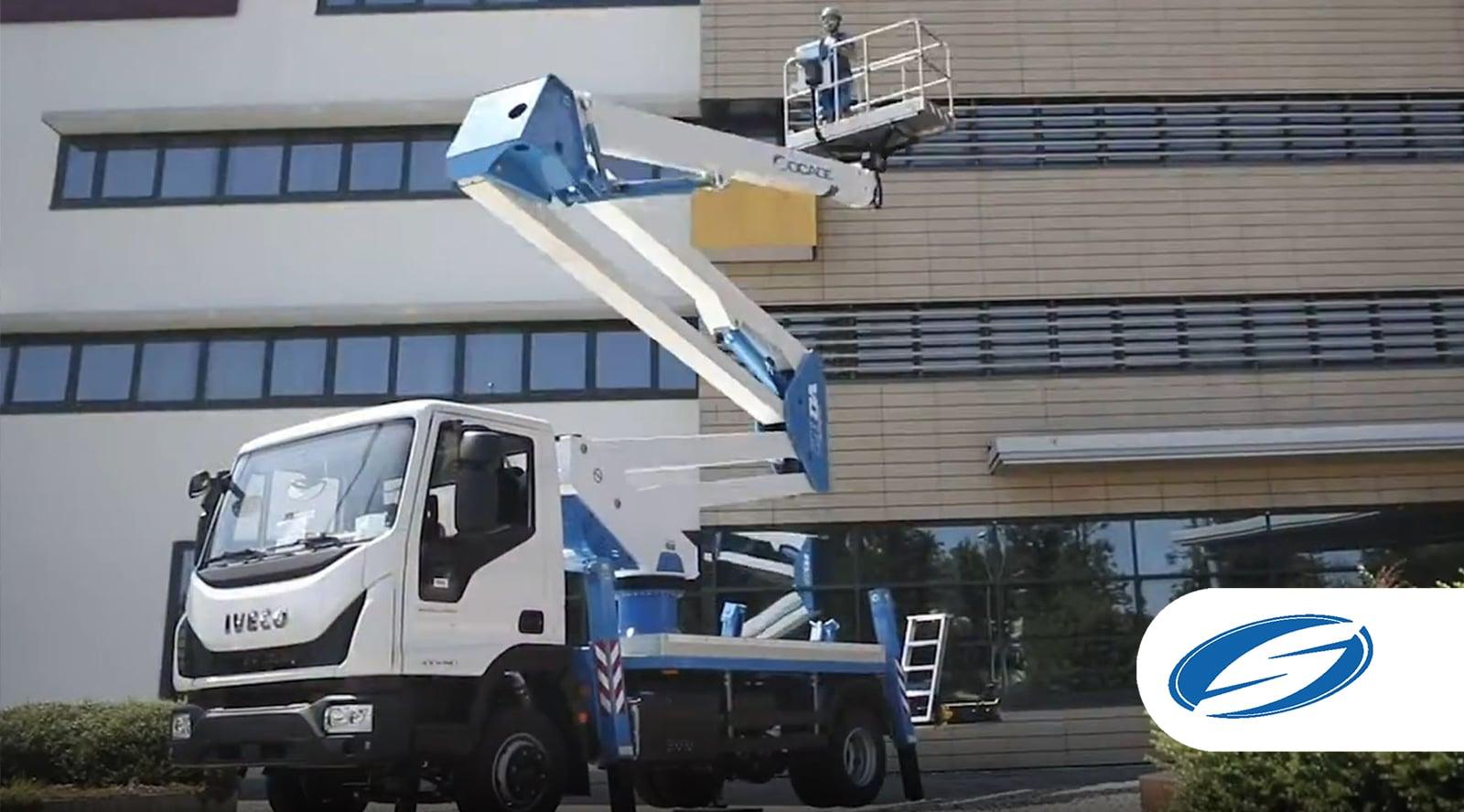 28DA SPEED Truck-mounted boom lift