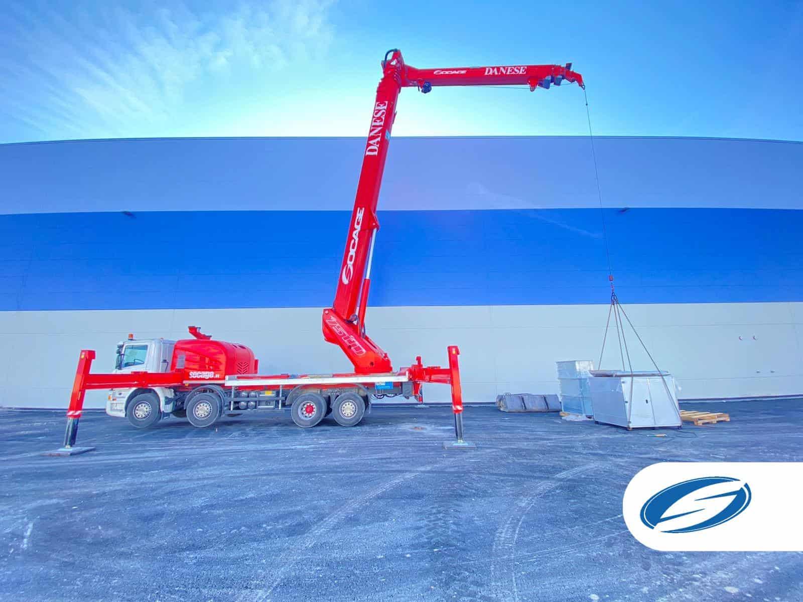 Aerial work platform ForSte 75TJ winch