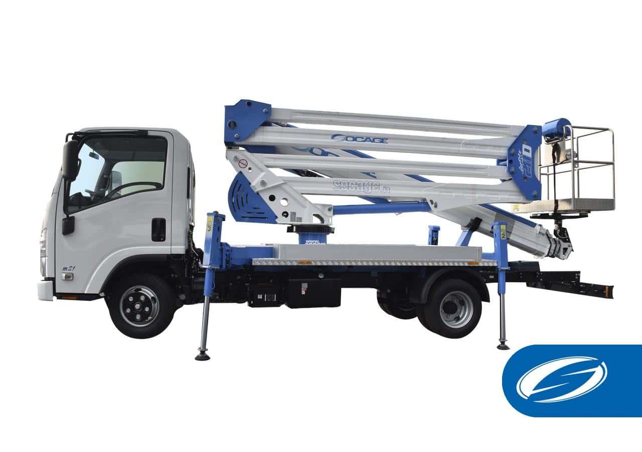 Aerial platform truck ForSte28D SPEED