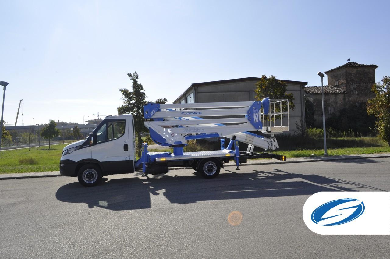 Boom lift Truck ForSte 25D SPEED 1