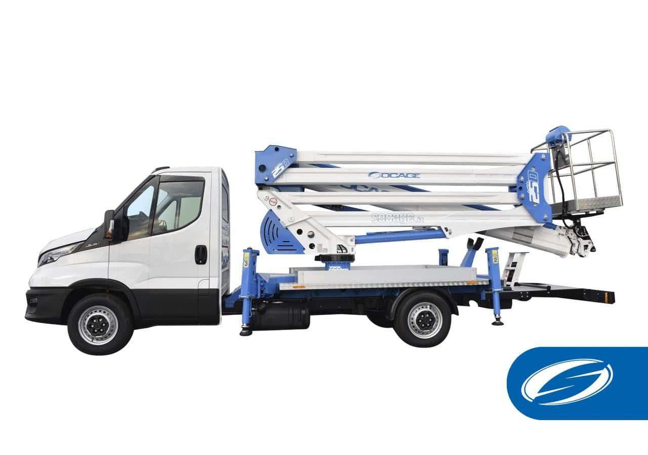 Boom lift Truck ForSte 25D SPEED