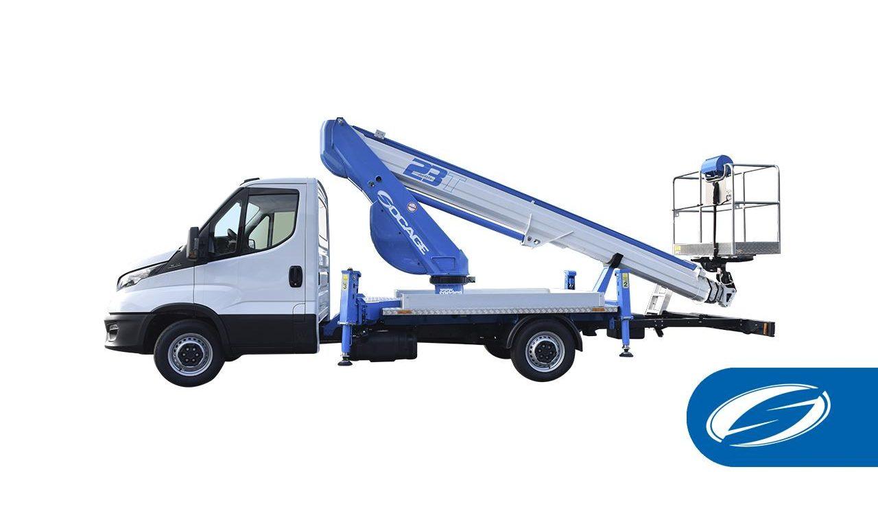 Bucket lift truck ForSte 23T
