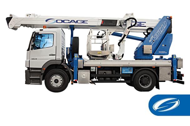 Boom lift truck ForSte 39TJJ