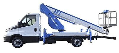 Bucket truck ForSte 23T