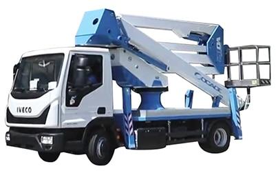 Bucket truck ForSte 28DA speed