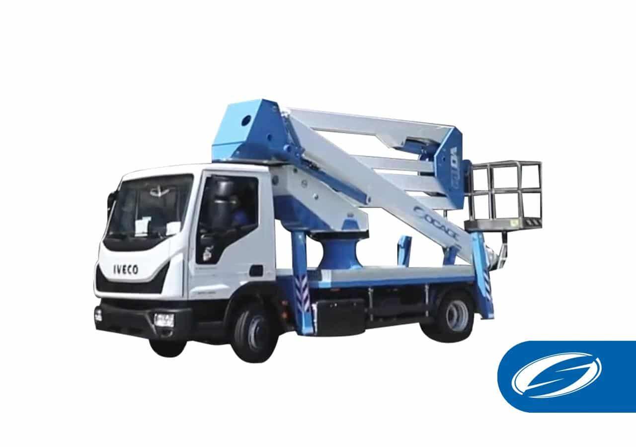 Truck-mounted boom lift ForSte 28DA speed