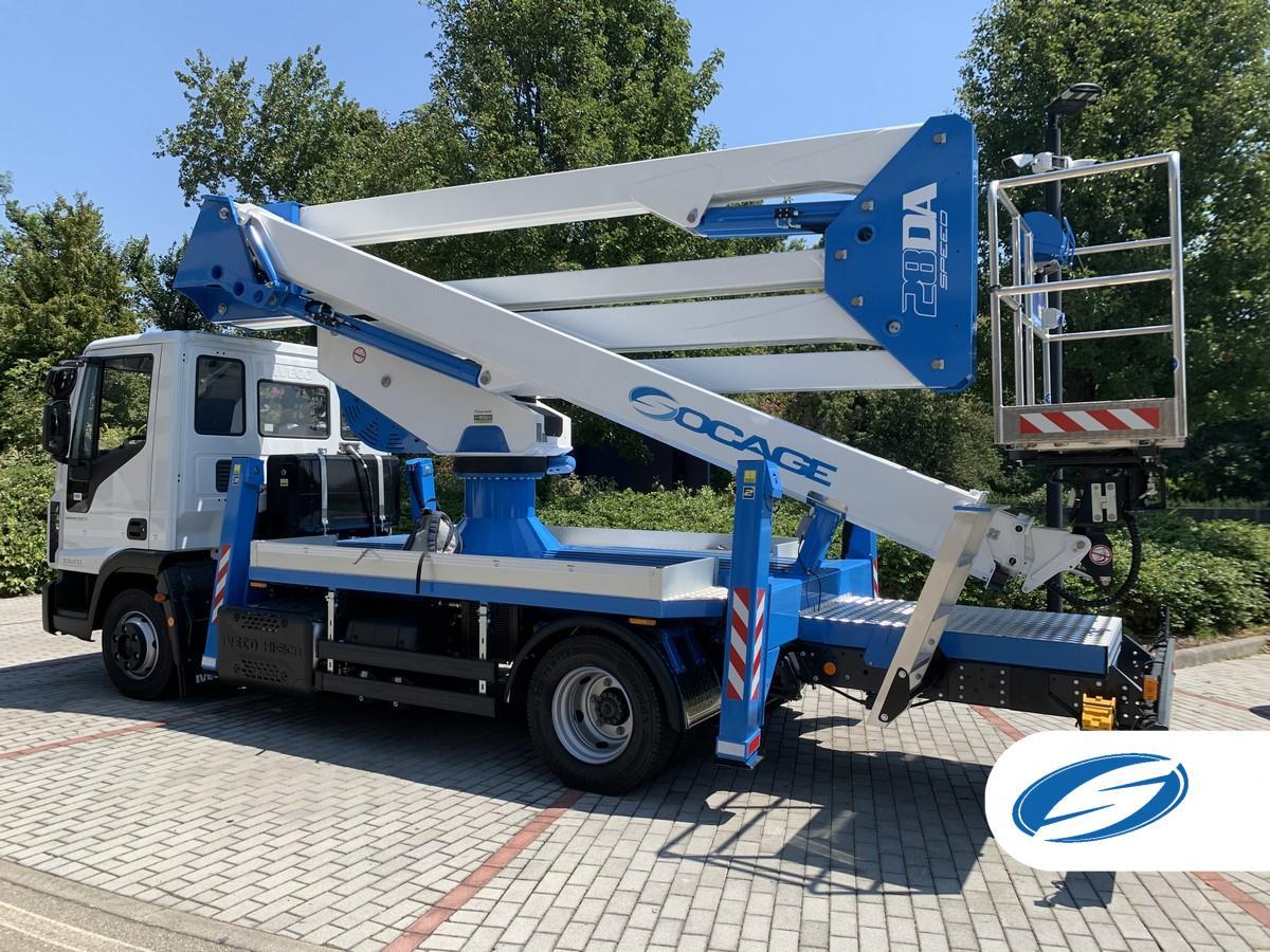 Truck-mounted boom lift 28DA SPEED