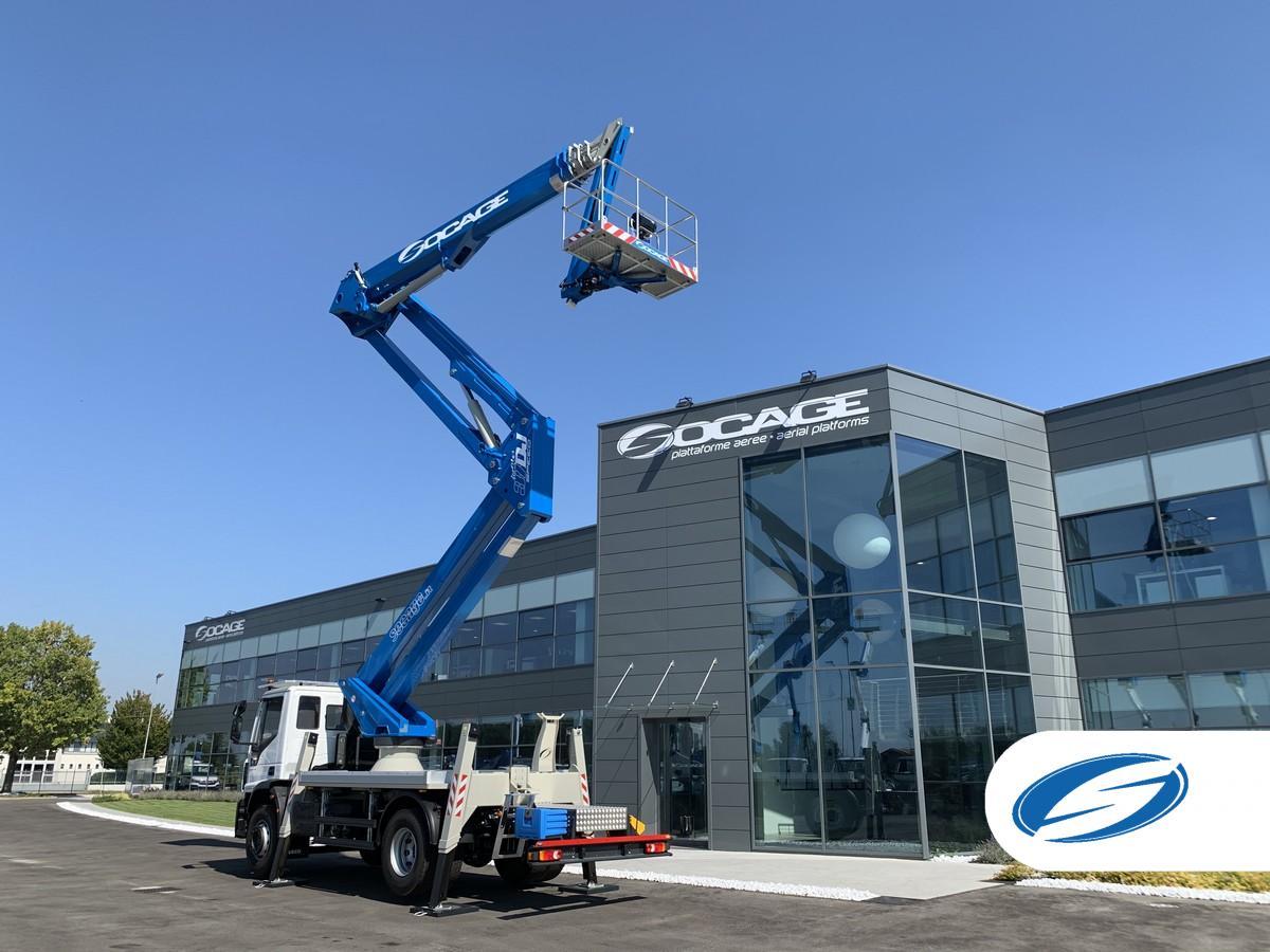 Truck mounted boom lift forSte 37DJ SPEED