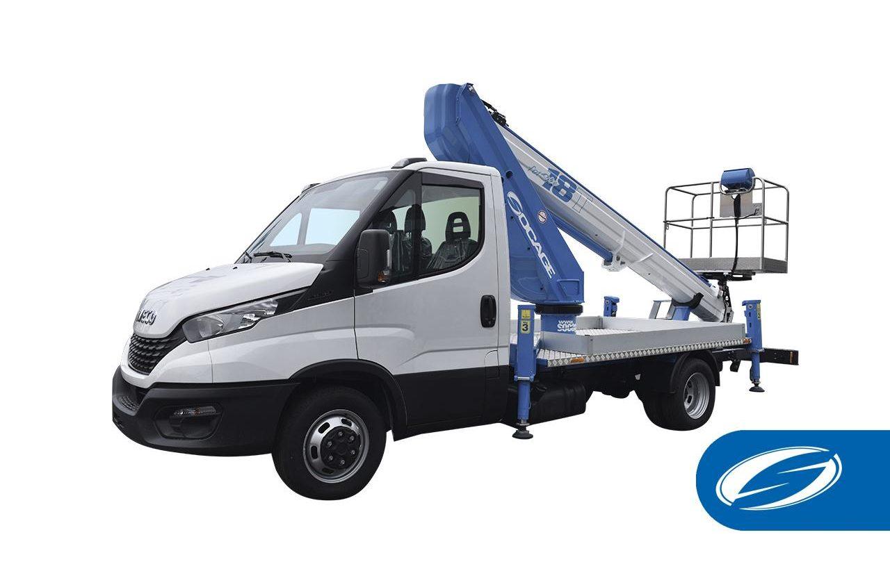 aerial platform truck 18T SPEED