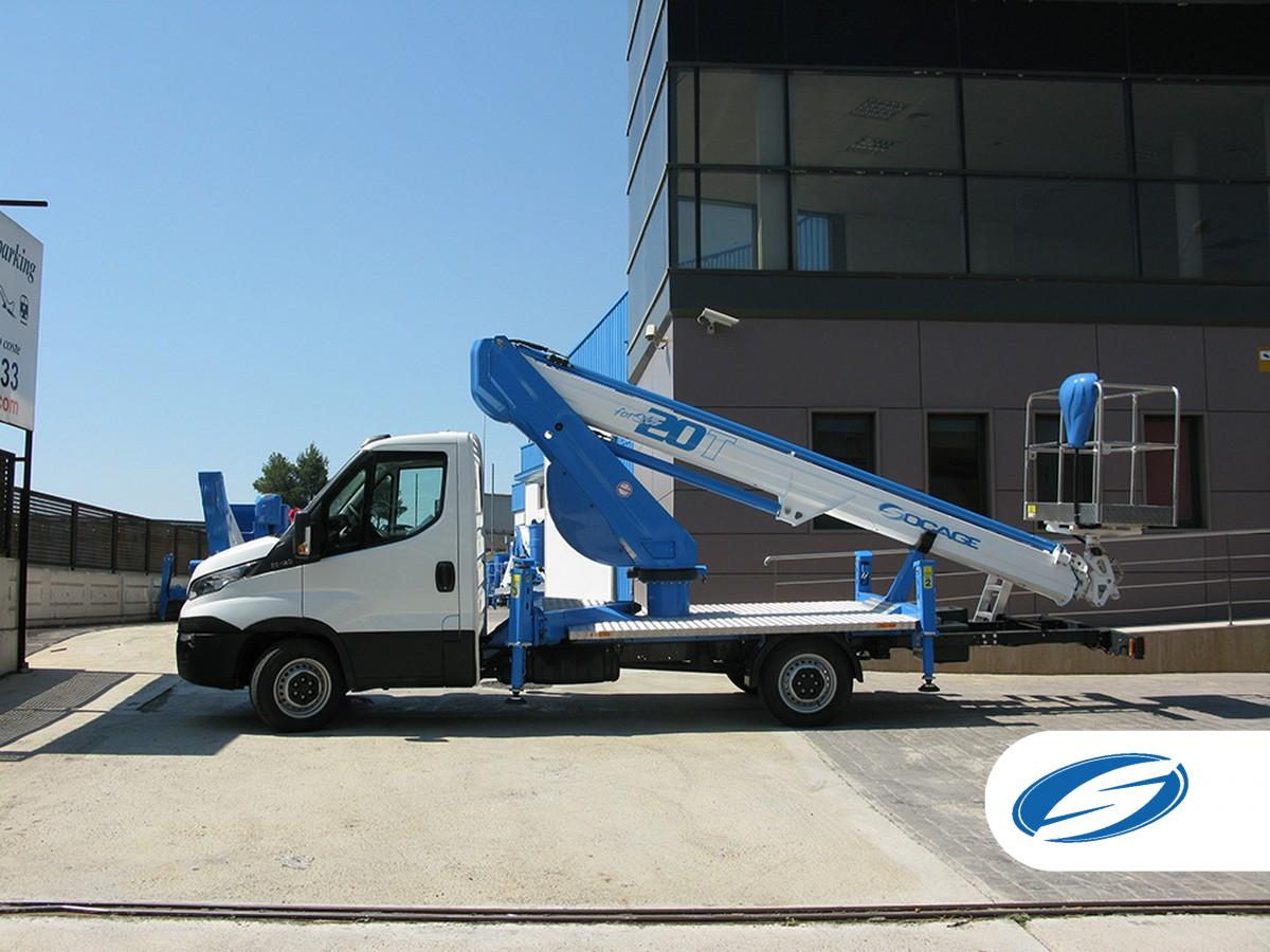boom lift truck Socage 20T