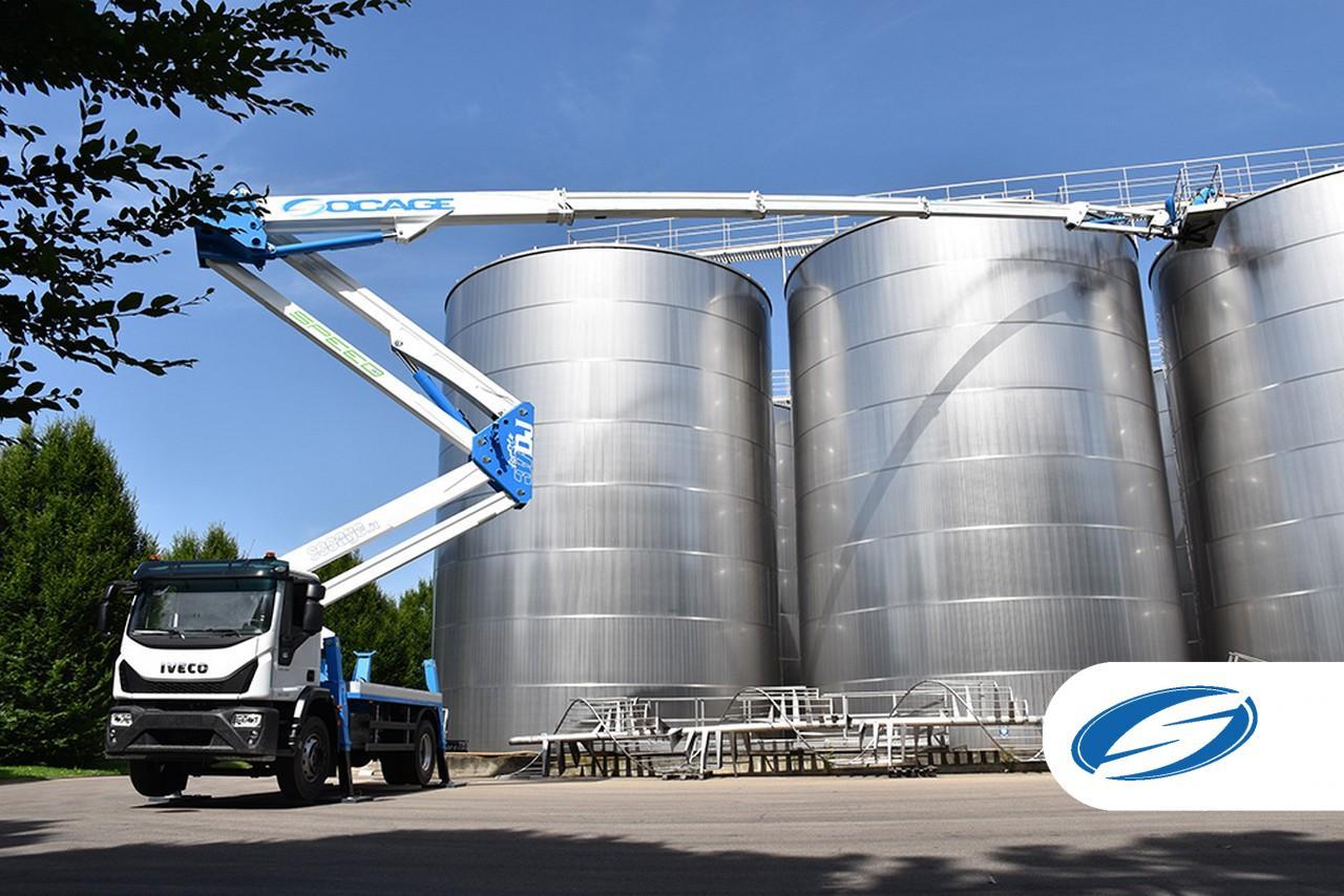 Truck mounted boom lift 37dj speed