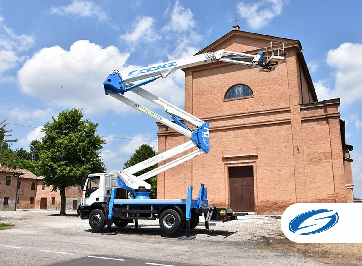 Truck mounted boom lift 37DJ SPEED IVECO