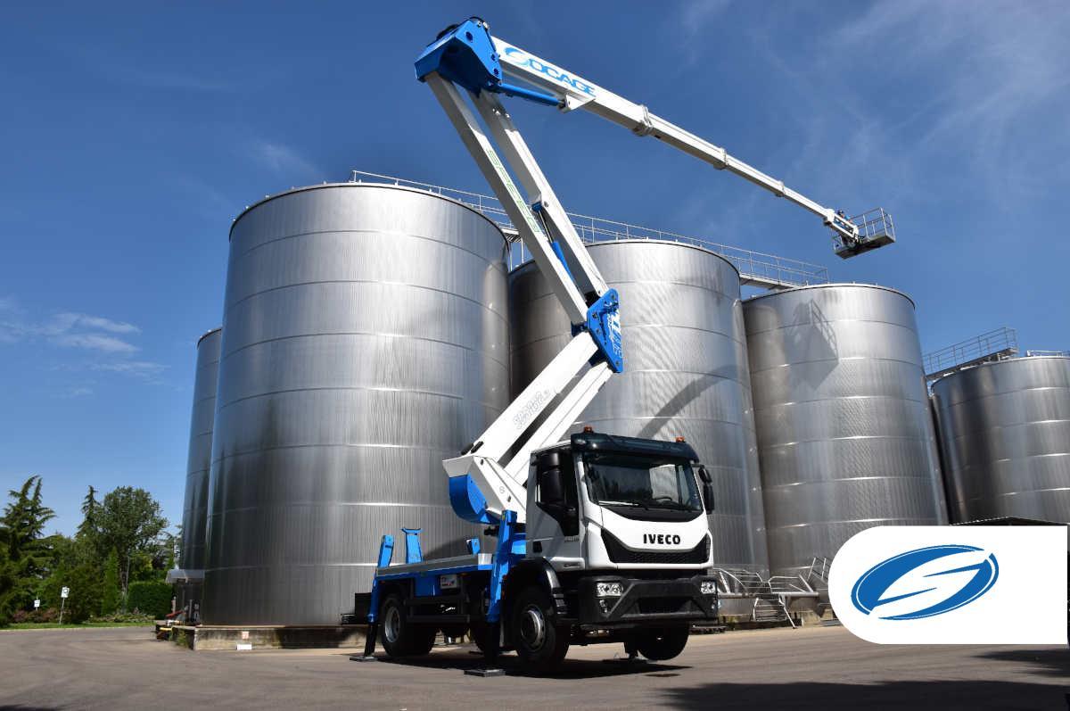 Truck mounted boom lift 37DJ SPEED outreach
