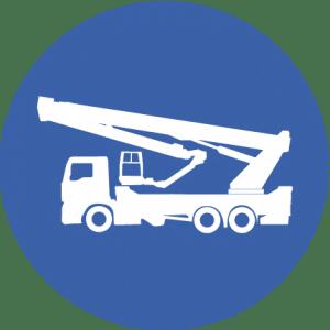 Bucket truck telescopiche jib