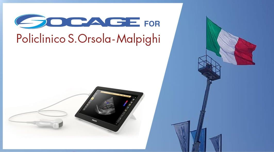 Socage donates innovative mobile ultrasound