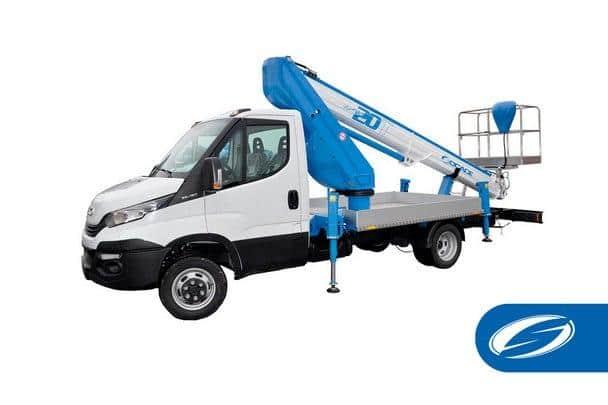 Boom lift truck ForSte 20T Socage