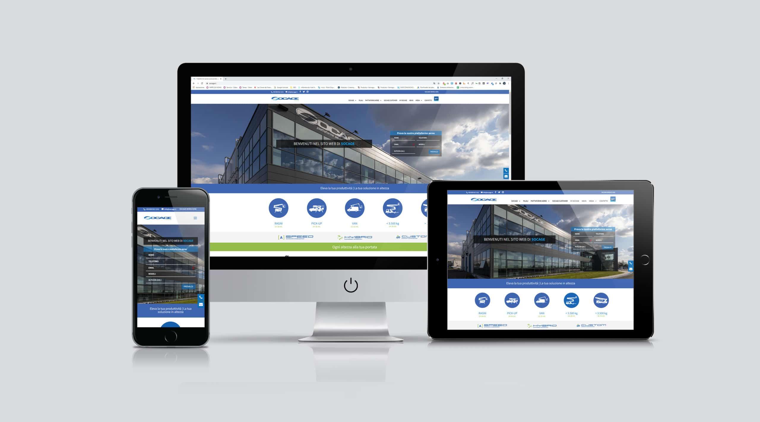 Socage aerial platform web