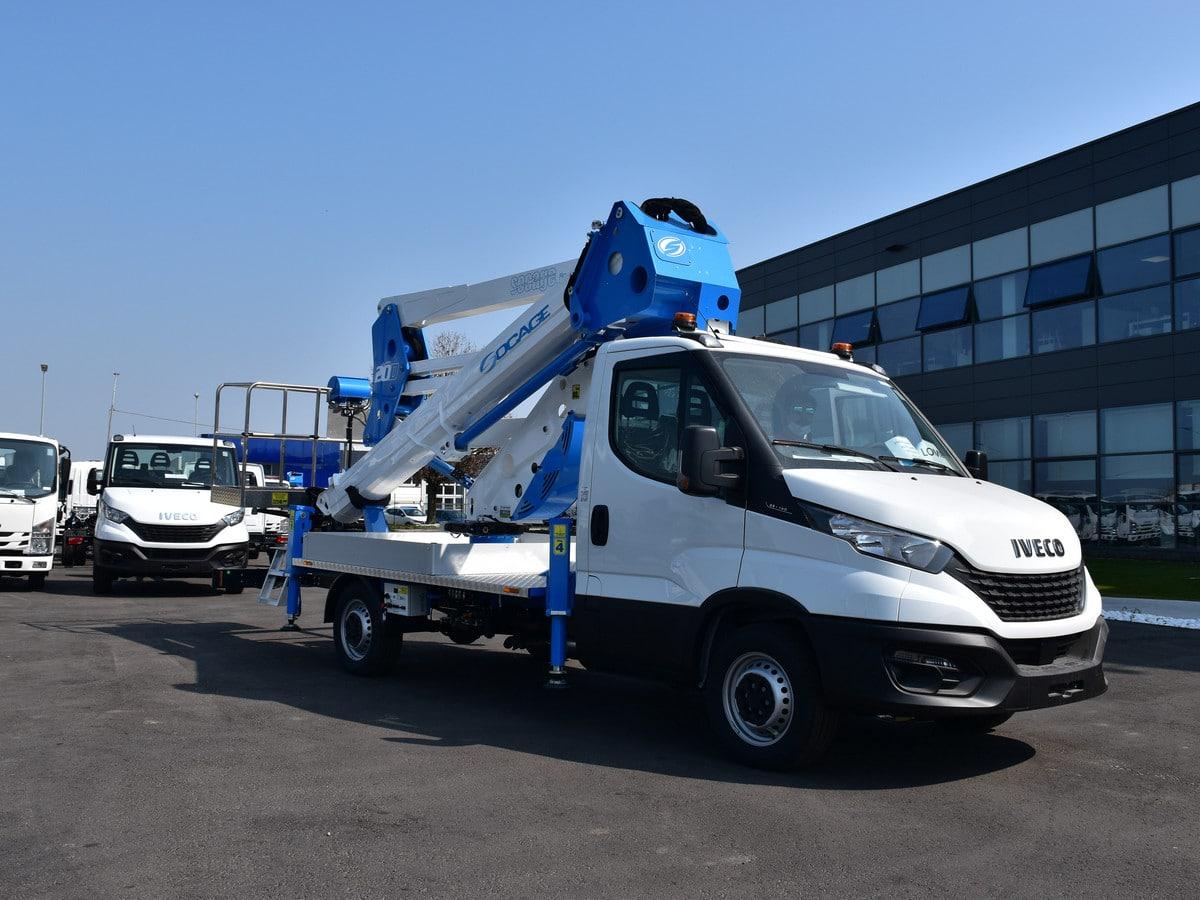 aerial work platform 20D Iveco